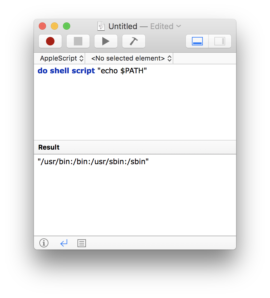 Setting the PATH in Scripts – Scripting OS X