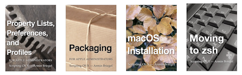 Scripting OS X Books FAQ