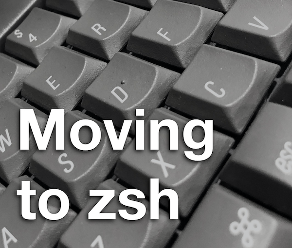 Book Update for Big Sur – Moving to zsh v5